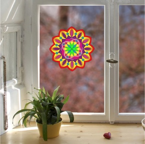 Fenstermandala 2