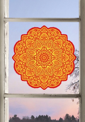Fenstermandala 39