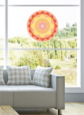 Fenstermandala 40