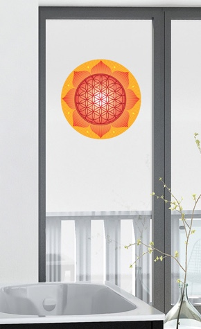 Fenstermandala 50