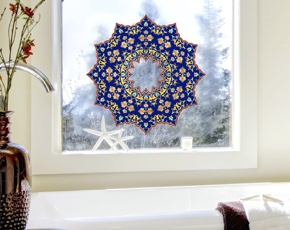 Fenstermandala 55