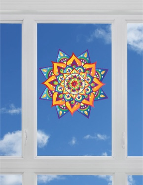 Fenstermandala 56