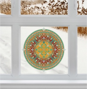 Fenstermandala 59